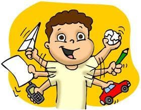 El trastorno por déficit de atención, con o sin hiperactividad (TDAH)